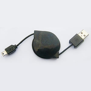 "GS-0204 USB 2.0 round cable USB ""A"" Male to Mini ""B""5pin"