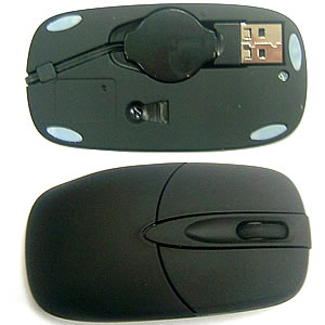 GS-0211 This USB Optical Mouse is small enough to easily carry in your laptop bag